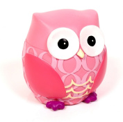 kiddiwinks resin money bank pink owl