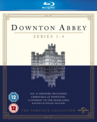 Downton Abbey: Series 1-4 [Region B] [Blu-ray]