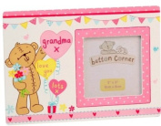 Button Corner - Grandma Photo Frame