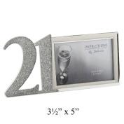 Impressions S/P Birthday Frame/Glitter Epoxy 13cm x 8.9cm - 21