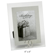 50 th Mirror Birthday Photo Frame 10cm x 15cm
