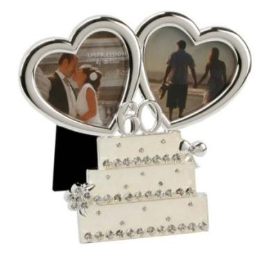 60th Wedding Anniversary Gifts New Zealand : Anniversary Wedding Cake Photo Frame60th Wedding Anniversary ...