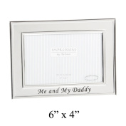 Silver plated Me & My Daddy Photo frame