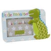 Boys Little Monster Kiddiwinks Dinosaur Photo Frame Gift