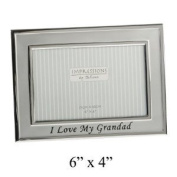 Silver plated I love My Grandad Photo frame