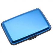Aluma Wallet Credit Card Holder RFID Blocking - Blue Colour