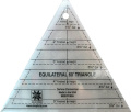 EZ Quilting 60° Triangle Acrylic Template