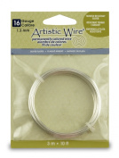 Artistic Craft Wire Silver Plated Non Tarnish 16 Gauge - 3m