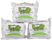 Boogie Wipes Unscented - 30 Count Packs - 3 Packs