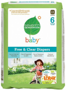 Seventh Generation Baby Nappies Pack