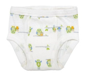 Under The Nile Apparel Under The Nile Egyptian Organic Cotton Owl Print Training Pants, 2-4 Years