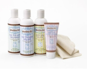 Grandma El's Complete Bath Gift Set For Babies with Baby Lotion, Shampoo, Baby Wash and Nappy Rash Remedy Lotion , 1060ml