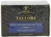 Taylors of Harrogate Scottish Breakfast Tea, 50-Count Tea Bags