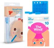 1 NoseFrida Nasal Aspirator, 24 Hygiene filters , 10 single-use The Windi