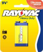 Rayovac Heavy Duty Batteries, 9V Size, 0.11 Pound