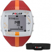 Polar FT7 Heart Rate Monitor, Red/Orange