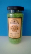 Village Naturals Therapy Aches & Pains Mineral Bath Soak, 590ml