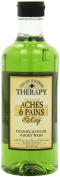 Village Naturals Therapy Foaming Bath Oil, Aches & Pains Relief, 470ml
