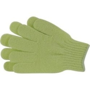 Aromatherapy EXFOLIATING BATHING GLOVES - CELERY By SPA ACCESSORIES