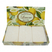 Saponificio Artigianale Fiorentino Lemon Soap Set 3 x 125g