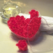 Red Rose Soap Set