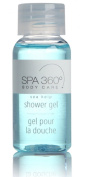 Spa 360 Body Care Sea Kelp Shower Gel Lot of 18 Each 30ml Bottles