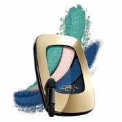 New L'Oreal Colour Riche Eyeshadow Quads - 211 Blue Haute Couture