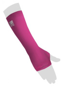 Wrist Sleeve with Thumb Hole - Pink - L