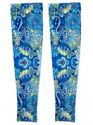 Full Length Arm Sleeve - Sold in Pairs - Cornflower - M