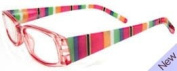 Fashion Reading Glasses - Candy Pink +1.0