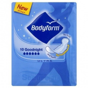 Bodyform 10 Goodnight Ultra Towels