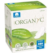 Organyc Cotton Feminine Pads - Maternity Pads with Wings - 10 Pack - HSG-832584
