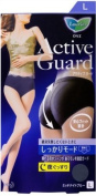 Kao Laurier ACTIVE GUARD Sanitary Panty, Tight-fit, High-rise Shorts, Midnight Blue - Large Size
