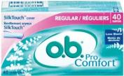 OB TAMPONS PRO COMFORT REG 40EA