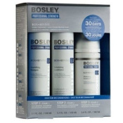 Bosley Revive Starter Pack for Visibly Thinning / Non Colour-Treated Hair 3pc