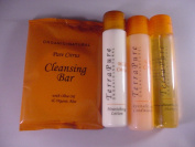 Terra Pure Wild Citrus Travel Set 2 Lotion, 2 Soap, 2 Shampoo and 2 Coniditioner