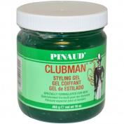 Clubman Styling Gel By Ed Pinaud for Men, 470ml