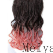 2013New Style 50cm Ombre Clip Hair Extension 105g