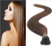 Promotion of 46cm ,0.5g/s 100s Beauty Wrap Remy Fusion I Stick Tip Human Hair Extensions Salon Style