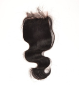 4x4 Lace Closure 30cm 100% Remy Brazilian Virgin Human Hair Body Wave Bw Extensions