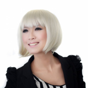 Short Party Wigs for Women with Synthetic ,6 Colours