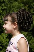 Cheerleader Ringlet Curly Drawstring Ponytail (24B