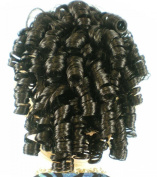 Cheerleader Ringlet Curly Drawstring Ponytail (1B