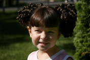 Cheerleader Ringlet Curl Drawstring Pigtails