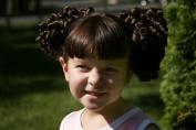 Cheerleader Ringlet Curl Drawstring Pigtails