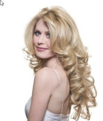 HAIR EXTENSIONS SWEDISH BLONDE CLIPS IN 60cm INCHES WAVY 160gm WAVY