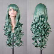"""Taobaopit 32"""" 80cm Long Hair Spiral Curly Cosplay Costume Wig"""