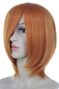 Anangelhair + Free Hair Cap Anangelhair Free Shipping Including Hair Cap 13'' 30cm Straight Short Heat Resistant Daily Hair Cosplay Wig Hallowmas