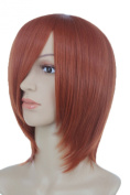 Anangelhair + Free Hair Cap Anangelhair Free Shipping Including Hair Cap 13'' 30cm Straight Short Heat Resistant Daily Hair Cosplay Wig Hallowmas