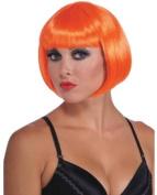 Neon Bob Wig - Orange - EDO-1717-03